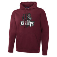 MRO ATC Men's Game Day Fleece Hooded Sweatshirt with Athletic Logo - Maroon (MRO-110-MA)
