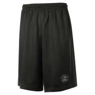 MRO ATC Youth Pro Mesh Short with Faith-Based Logo - Black (MRO-311-BK)