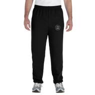 MRO Gildan Adult Heavy Blend 50/50 Sweatpant with Faith-Based Logo - Black (MRO-112-BK)