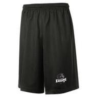 MRO ATC Youth Pro Mesh Short with Athletic Logo - Black (MRO-313-BK)