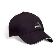 MRO Premium Cotton Twill Sandwich Peak Cap - Black (MRO-054-BK)