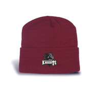 MRO Knit Solid Tuque With Cuff - Maroon (MRO-055-MA)