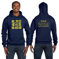 TCS Champion Adult Powerblend EcoSmart Pullover Graduation Hoodie - Navy (TCS-206-NY)