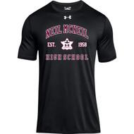 NMC Under Armour Men's Locker 2.0 T-shirt - Black (NMC-104-BK)