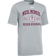 NMC Under Armour Men's Locker 2.0 T-shirt - True Grey (NMC-104-TG)