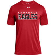 KPS Under Armour Men's Locker 2.0 Tee - Red (KPS-101-RE)