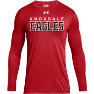 KPS Under Armour Men's Locker 2.0 Tee Long Sleeve - Red (KPS-102-RE)