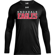 KPS Under Armour Men's Locker 2.0 Tee Long Sleeve - Black (KPS-102-BK)