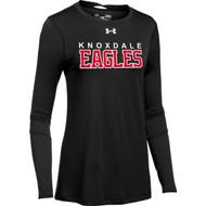 KPS Under Armour Women's Long Sleeve Locker 2.0 Tee - Black (KPS-202-BK)
