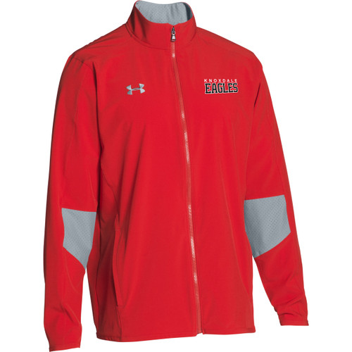 KPS Under Armour Men's Squad Woven Warm-Up Jacket - Red (KPS-106-RE)