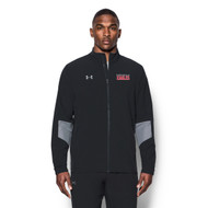 KPS Under Armour Men's Squad Woven Warm-Up Jacket - Black (KPS-106-BK)