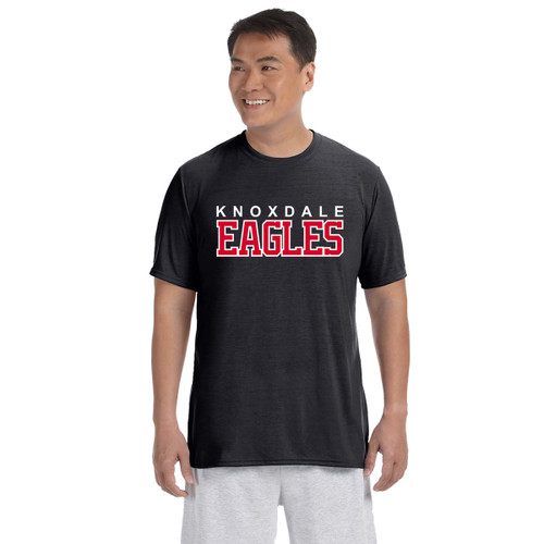 KPS Gildan Adult Performance Adult T-Shirt - Black (KPS-007-BK)
