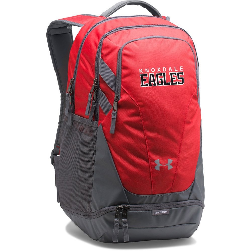 7214abad45dc KPS Under Armour Team Hustle 3.0 Backpack - Red