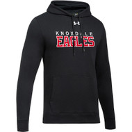 KPS Under Armour Men's Hustle Fleece Hoody - Black (KPS-104-BK)