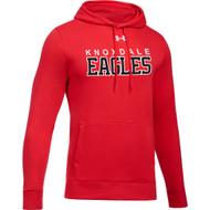 KPS Under Armour Men's Hustle Fleece Hoody - Red (KPS-104-RE)