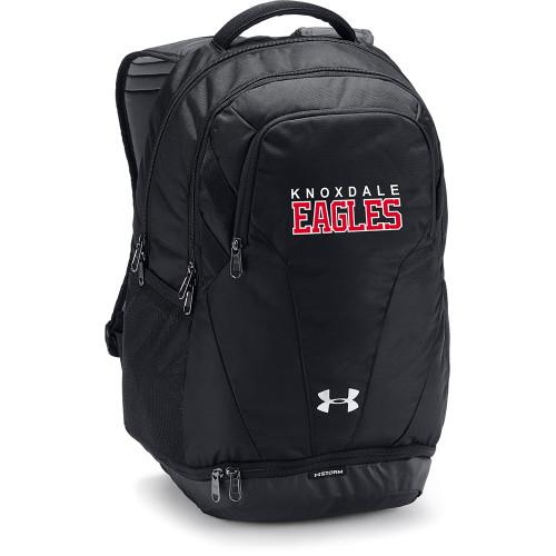 KPS Under Armour Team Hustle 3.0 Backpack - Black (KPS-051-BK.UA-1306060-001-OS)