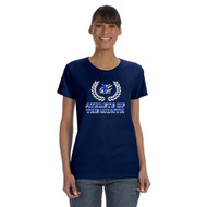 EDN Gildan Ladies' Heavy Cotton T-Shirt - Navy (EDN-207-NY)