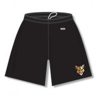 CSS AK Ladies Dryflex Solid Shorts w/Pockets - Black (CSS-524-BK)