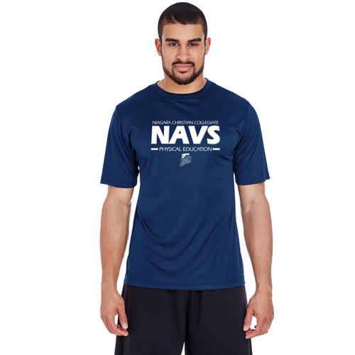 NCC Team 365 Men's Zone Performance T-Shirt - Navy (NCC-101-NY)