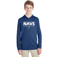 NCC Team 365 Youth Zone Performance Hoodie - Navy (NCC-303-NY)