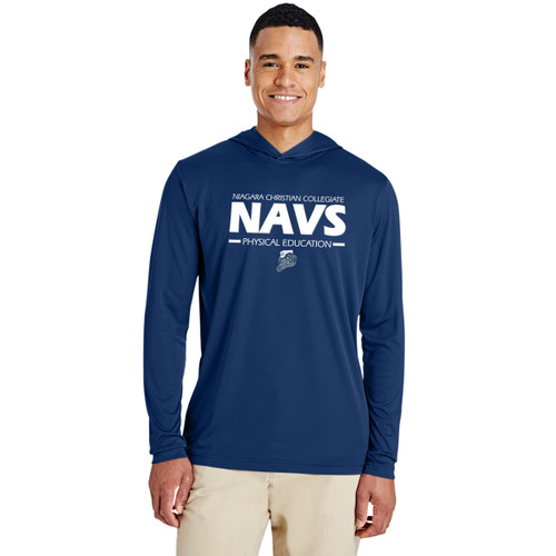 NCC Team 365 Men's Zone Performance Hoodie - Navy (NCC-103-NY)