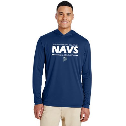 NCC Team 365 Men's Zone Performance Hoodie - Navy (NCC-103-NY)
