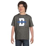 JND Gildan Youth Dry Blend 50/50 T-Shirt - Graphite Heather (JND-304-GH)