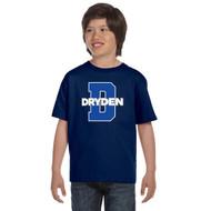 JND Gildan Youth Dry Blend 50/50 T-Shirt - Navy (JND-305-NY)