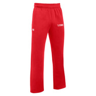 SJO Under Armour Men's Hustle Fleece Pant - Red (SJO-104-RE)