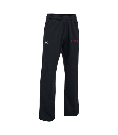 SJO Under Armour Youth Hustle Fleece Pant - Black (SJO-304-BK)
