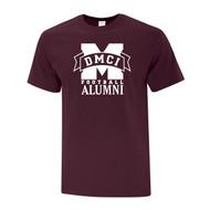 DMC ATC Men's Everyday Cotton Tee with Alumni Logo - Maroon (DMC-105-MA)