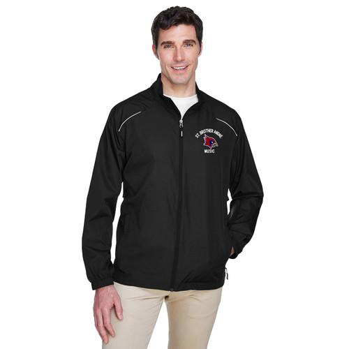 SBA Core 365 Men's Motivate Unlined Lightweight Jacket - Black (SBA-126-BK)