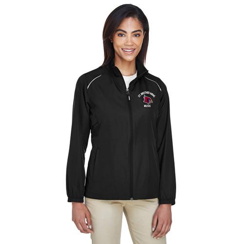 SBA Core 365 Women's Motivate Unlined Lightweight Jacket - Black (SBA-226-BK)