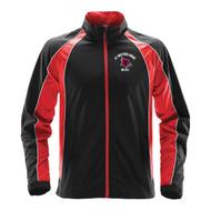 SBA Men's Warrior Training Jacket - Black/Red (SBA-127-BK)