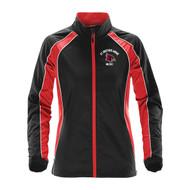 SBA Stormtech Women's Warrior Training Jacket - Black/Red (SBA-227-BK)