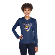 STJ Team 365 Women's Zone Performance Long-Sleeve T-Shirt - Navy (STJ-204-NY)