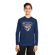 STJ Team 365 Youth Zone Performance Long-Sleeve T-Shirt - Navy (STJ-304-NY)
