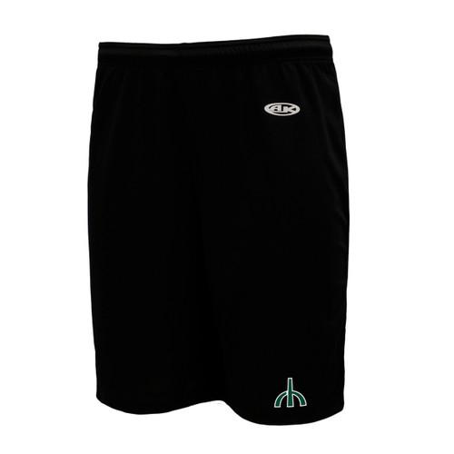 "RHS Athletic Knit Men's Dryflex 9"" Gym Short - Black"
