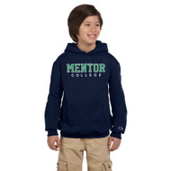 MCM Champion Youth Fleece Hoodie - Navy (MCM-308-NY)