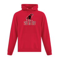 FES ATC Men's Everyday Fleece Hoodie - Red (FES-102-RE)