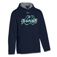 STM Under Armour Men's Double Threat AF Hoody - Navy (STM-117-NY)