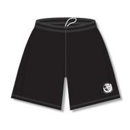 CNM Athletic Knit Youth Student Dryflex Short - Black (CNM-303-BK)