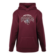 MRW ATC Game Day Fleece Hooded Youth Sweatshirt - Maroon (MRW-308-MA)