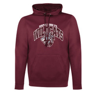 MRW ATC Men's Game Day Fleece Hooded Sweatshirt - Maroon (MRW-008-MA)