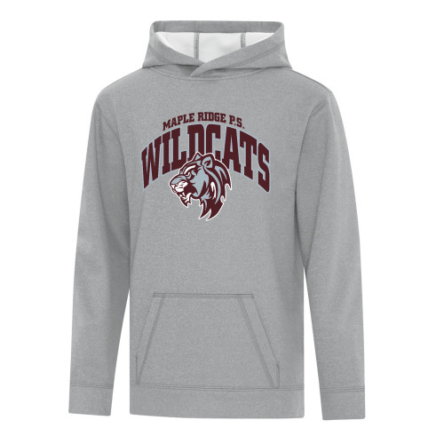 MRW ATC Game Day Fleece Hooded Youth Sweatshirt - Athletic Heather (MRW-308-AH)