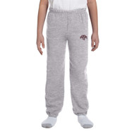 MRW Gildan Youth Heavy Blend 50/50 Sweatpant - Sport Grey (MRW-309-SG)