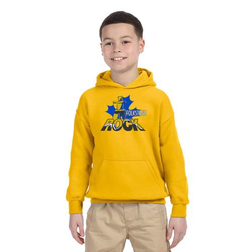 FPS Gildan Youth Hoodie - Gold (FPS-302-GO)