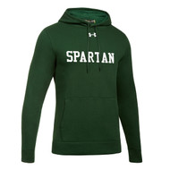 Under Armour Men's Hustle Fleece Hoodie - Forest Green (JCH-103-FO)