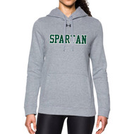 Under Armour Women's Hustle Fleece Hoodie - True Grey (JCH-203-TG)