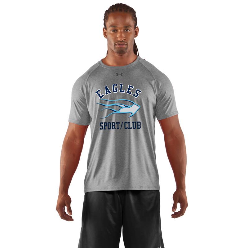 58856e486 SMC Under Armour Men's Game Short Sleeves Locker T-Shirt - Grey (SMC-